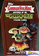 2019 Topps Garbage Pail Kids Series 2 REVENGE of OH, THE HORROR-IBLE Blaster Box
