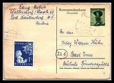 Gp Goldpath: Austria Postal Card 1955 _Cv427_P11