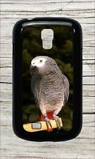 BIRD AFRICAN GREY PARROT BREED CASE COVER FOR SAMSUNG GALAXY S4 -dtf5Z