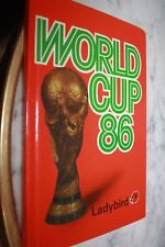 petit Livre )) WORLD CUP 86 )) made in England - présentation , calendriers.....