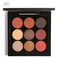 9 Colors Eye Shadow Makeup Cosmetic Shimmer Matte Eyeshadow Palette Kit Set