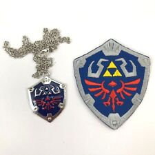 Set Master Shield fashion jewellery & Embroidered Sew-On Patch Legend of Zelda