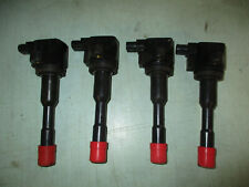 Honda Civic Hybrid Ignition Coil Set OF 4 CM11-108  2003 2004 2005 D2