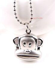 New Cartoon monkey boys Girls Ladies Childre Necklace Pendant watch gift DK53