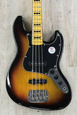 G&L Tribute JB 4-String Electric Bass, Maple Fingerboard - 3-Tone Sunburst