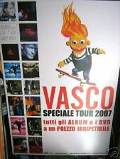 VASCO ROSSI-CARTELLONE PUBBLICITARIO-DISCOGRAFIA EMI
