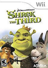 Shrek the Third (Nintendo Wii, 2007) Free Shipping