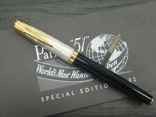 PARKER 51 SPECIAL EDITION EMPIRE STATE ROLLERBALL PEN BLACK & SILVER NEW IN BOX