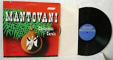 MANTOVANI CHRISTMAS CAROLS 33 LP London Longplay Record RCA Music Club Edition