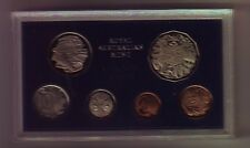 1969  Australia Proof Coin Set  with Certificate and outer Foams