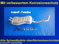 06//2003 Kit Auspuff Audi A3 Typ 8L1 1.9TDI 66-96kW Bis BJ Endschalldämpfer