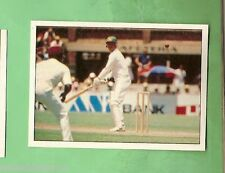 1985 SCANLENS CRICKET STICKER #38  ALLAN BORDER, AUSTRALIA