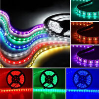 Waterproof 12V 5050 SMD RGB LED Strip Lights 5M 300 LEDs + 24 key IR Controller