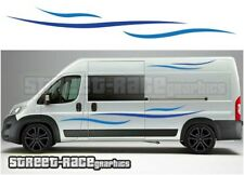 Motorhome Campervan 008 graphics stickers decal Fiat Ducato Citroen Relay Boxer