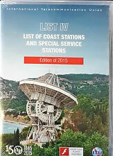 ITU List IV: List of Coast Stations and Special Service Stations Software (CD)