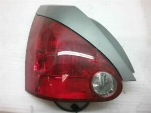 LH Left Driver Tail Light Lamp Quarter Panel Mounted 04 05 06 07 08 MAXIMA S-342