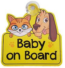 Baby a Bordo Auto Firmare, Bambino, Finestra Auto, Adesivo, vinile, decalcomania