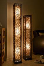 Wunderschöne XL Stehlampe Stehleuchte mit Rattan, Lampen Leuchten, Rattanlampe