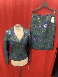 TAHARI BY ARTHUR LEVINE  SKIRT  SUIT/SIZE 2/RETAIL$280/NEW WITH TAG/JAQUARD