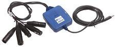 Digigram UAX220 USB Professional XLR Balanced Audio Recording Interface Adapter