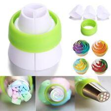 Kit Coupleur /Adaptateur 3 couleurs + 1 Douille spéciale russe Fleur Cake Design