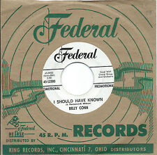 Billy Conn:I should have known/I promise you I won't mention..Federal DJ:Soul