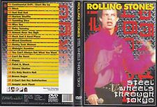 DVD - The Rolling Stones - Steel Wheels Through Tokyo RARE