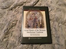 GREAT COURSES, GREAT MINDS WESTERN INTELLECTUAL TRADITION, PART 2:CHRIST AGE CDS