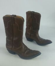 Western Boots Women Brown Leather Cowboy Justin Boot Boots L4023 Size 7.5 A