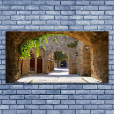Wall art Print on Plexiglas® Acrylic 140x70 Tunnel Architecture