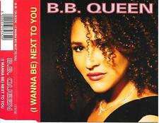 B.B. QUEEN - (I wanna be) Next to you CDM 3TR Synth-Pop 1991 Holland (EMI)
