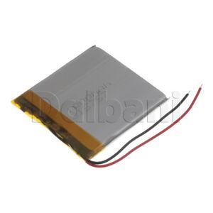 New 3.7V 1000mAh 315757 Internal Li-ion Polymer Built-in Battery 53x51x4mm