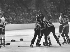 NHL Oct 9th 1970 Vancouver Canucks 1st Game in History 8 X 10 Picture Photo