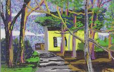 George Kocar Digital Drawing, House in the woods.