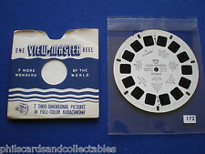 VIEW-MASTER - The Fjord Country  - Norway  1955