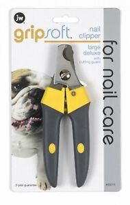 JW Gripsoft Deluxe Nail Clipper Medium    free Shipping
