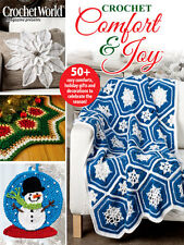 Annies Crochet Comfort & Joy Holiday 2016 Gifts Decorations Christmas Projects