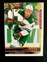 2018-19 Upper Deck Exclusives #213 Jordan Greenway YG