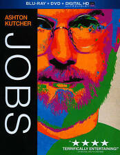 Jobs (Blu-ray/DVD, 2013, 2-Disc Set, Includes Digital Copy; UltraViolet) **NEW**