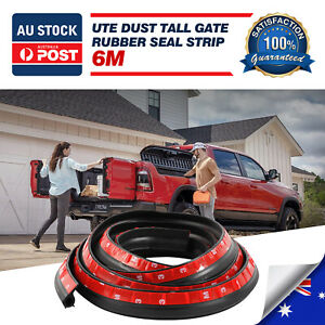 GREAT WALL STEED RUBBER UTE DUST TAIL GATE TAILGATE SEAL KIT PICKUP UTES TRUCK