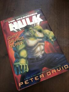 What Savage Beast by Peter David (1995, Hardcover)