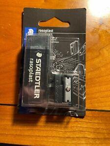 Staedtler Rasoplast eraser rubber Plastic Rubber Eraser Sharpener Black A3