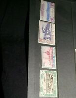 Postes Persanes stamps 791-794 Rare Middle East Stamps
