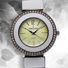 CHARLES LATOUR ~ STYLUS LADIES WATCH/Retails At $859.00 (CLEARANCE SALE)