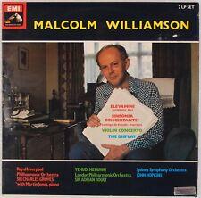 MALCOLM WILLIAMSON: Elevamini, Violin Concert EMI HMV Modern 2x LP '78 Orig