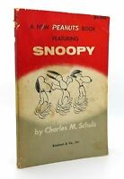 Charles M. Schulz A NEW PEANUTS BOOK FEATURING SNOOPY  1st Edition 2nd Printing