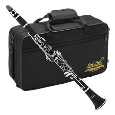 Jean Paul USA CL-300 Student Clarinet Key Of Bb With Ebonite Body & Strong Case