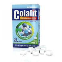 Genuine Apotex Colafit Pure Collagen Joints Bones Skin 30 crystals cubes vitamin