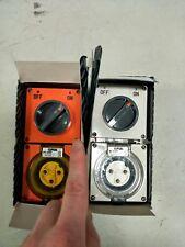 clipsal 250V 20A round pin captive outlets