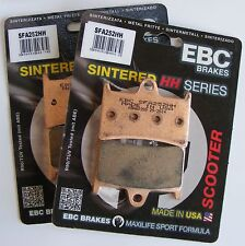 Yamaha XP500 T-Max (2008 to 2016) EBC FRONT Sintered Brake Pads (SFA252HH  x 2)